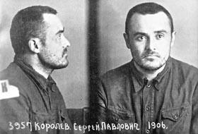 Сергей Павлович Королев, фото в Бутырской тюрьме на следующий день после возвращения с Колымы, 29 февраля 1940 г.