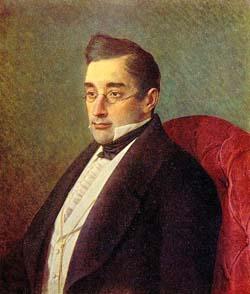 А.С. Грибоедов, портрет работы И.Н. Крамского, 1875