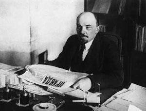 Ленин читает Правду