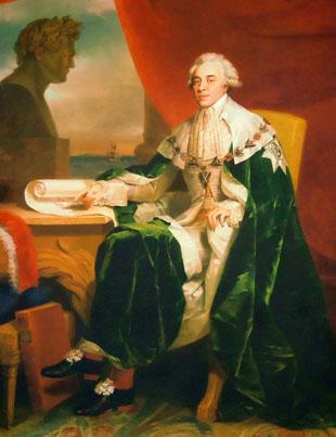 Портрет графа Н.П. Румянцева
