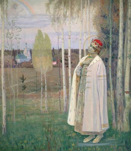 Дмитрий-царевич убиенный, М.В. Нестеров, 1899