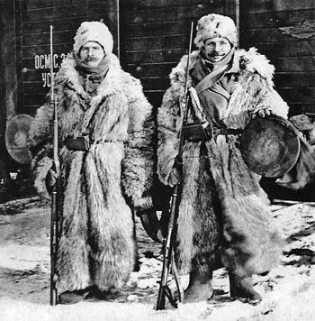 Чешские легионеры в Сибири, 1918