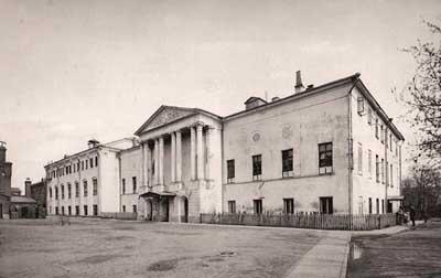 Бывший дом А.И. Несвицкой (архитектор М.Ф. Казаков), в котором с 1878 г. располагалось главное здание исправительного приюта для подростков