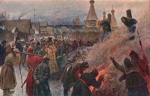 Мясоедов П.Е. Сожжение протопопа Аввакума,1897