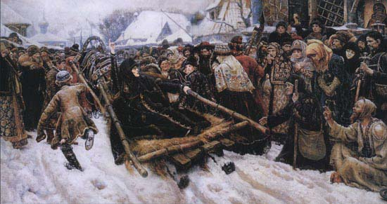Боярыня Морозова, В.И. Суриков, 1887