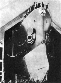 Спуск крейсера «Аврора» на воду 11 мая 1900 года