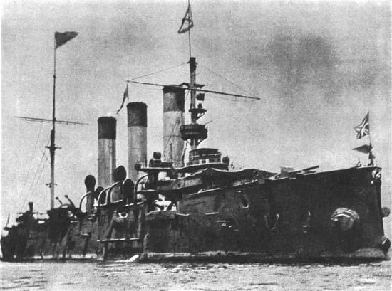 крейсер «Аврора» после Цусимы