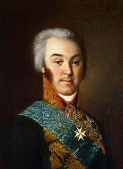 Граф Н.П. Шереметев портрет работы Н.Аргунова