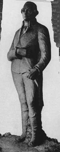 Памятник Робеспьеру, 1918