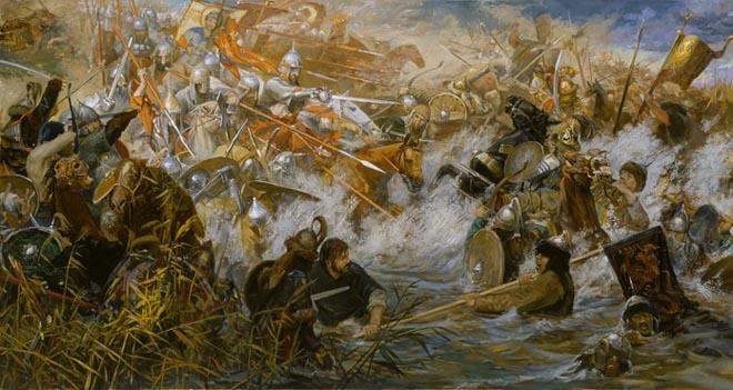 Комов И. Битва на Воже татары