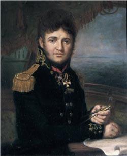 Ю.Ф. Лисянский, работа В.Л. Боровиковского, 1810