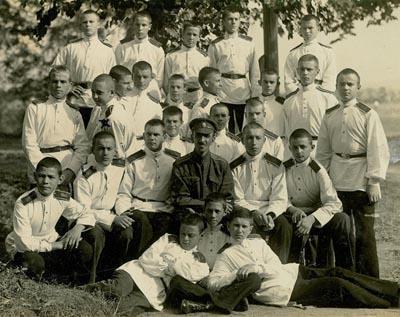 Кадеты Крымского кадетского корпуса в Югославии