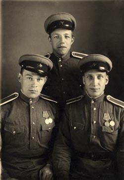Курсанты Подольского пехотного училища, 1942(?)