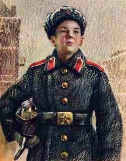 Открытка «Суворовец»
