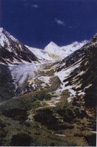 Ледник по дороге из Кашмира в Ладакх, В.В. Верещагин, 1875