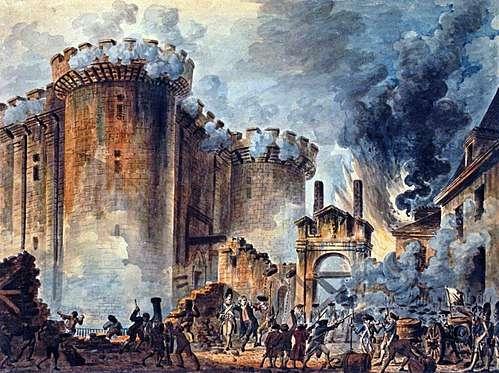 Prise de la Bastille. Жан-Пьер Уэль (1735 – 1813)