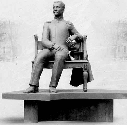 Проект памятника Б.Л. Розингу