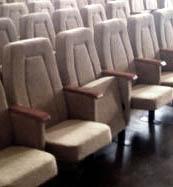 Откидные театральные кресла