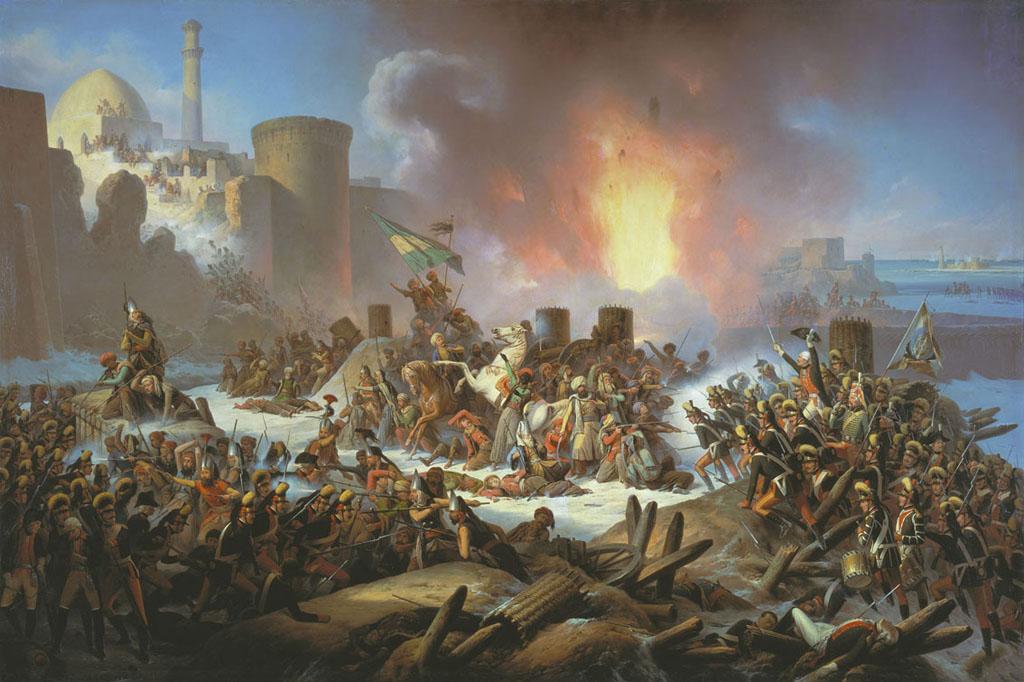 Штурм Очакова 6 декабря 1788 года. Януарий Суходольский, 1853