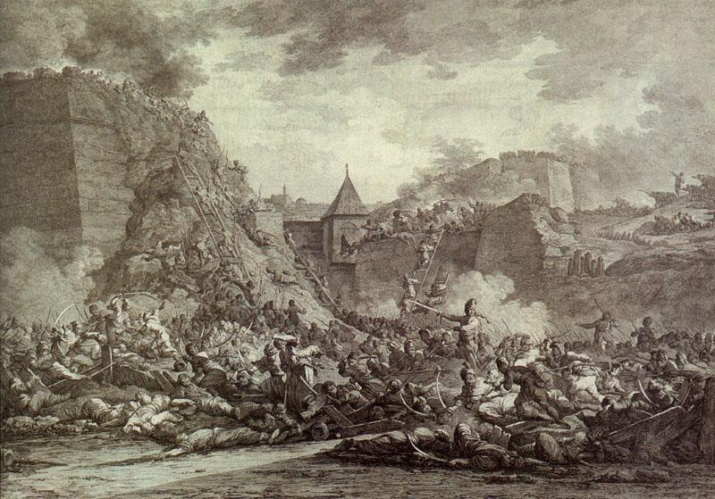 Штурм Очакова. А. Берг, 1792