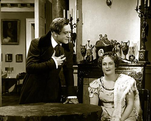 Чацкий и София в исполнении М.И. Царева и И.А. Ликсо, 1938