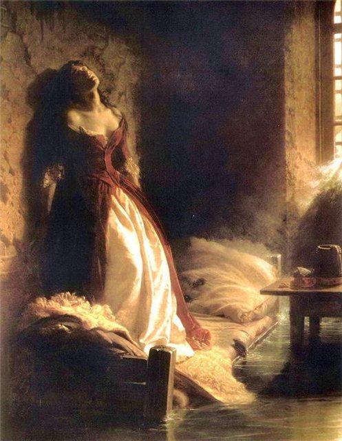 К.Д. Флавицкий, «Княжна Тараканова», 1864
