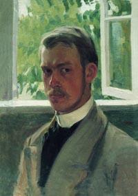 Кустодиев. Автопортрет. 1899