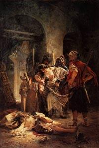 К.Е.Маковский,«Болгарскиемученицы»,1877