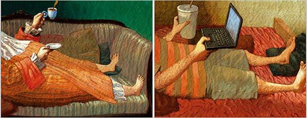Рисунок Бориса Куликова