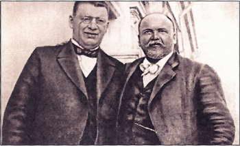 В.М. Дорошевич и В.А. Гиляровский