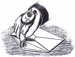 Прибор для смачивания конвертов