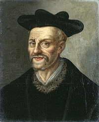 Франсуа Рабле. Неизвестный художник. Национальный музей Трианона