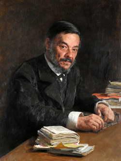 И.Е. Репин. Портрет физиолога И. М. Сеченова. 1889 г.