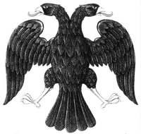 Двуглавый орёл по рисунку Билибина