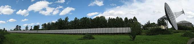 Большой пулковский радиотелескоп