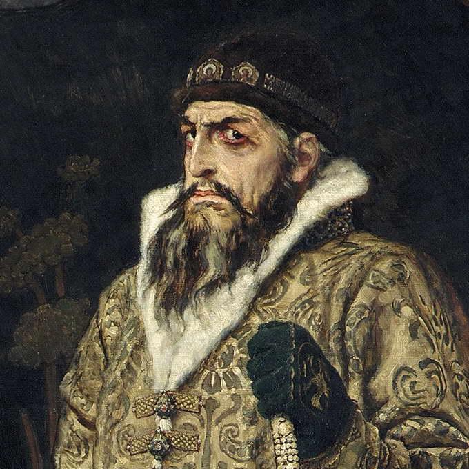 Царь Иван Васильевич Грозный, В.М. Васнецов, 1897, (фрагмент)