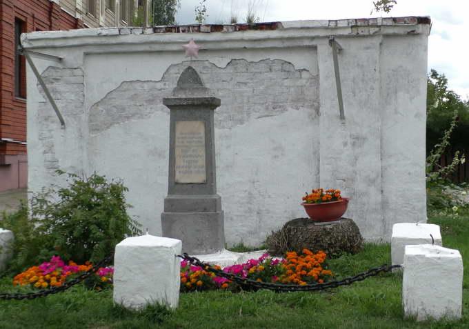 Свияжск, памятник расстрелянным красноармейцам