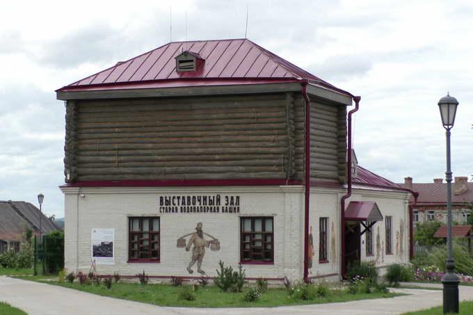Свияжск, Выставочный зал «Старая водонапорная башня»