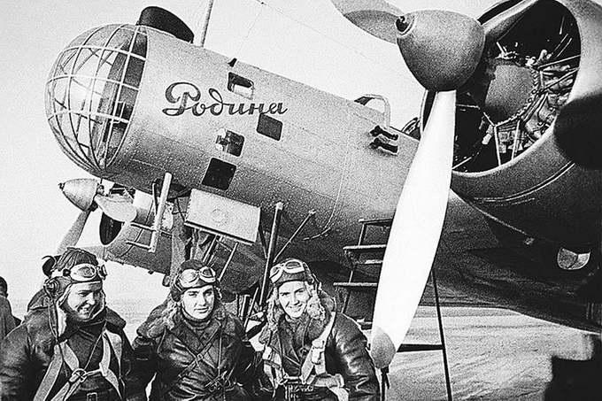 Самолет ДБ-2 «Родина»