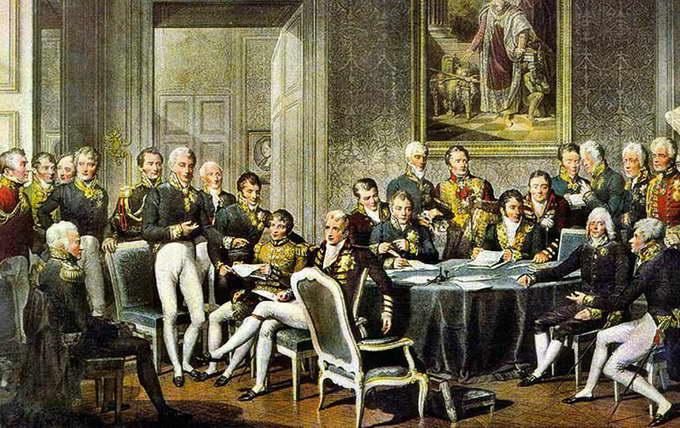 Венский конгресс. Жан-Батист Изабе, 1819