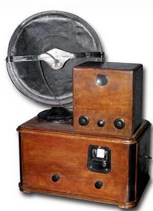 Первый оптико-механический телевизор марки Б-2