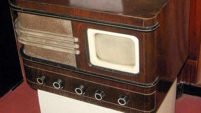 Телевизор «17ТН-1/3», СССР, 1939 год.
